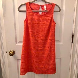 Orange Target Summer Dress -XS